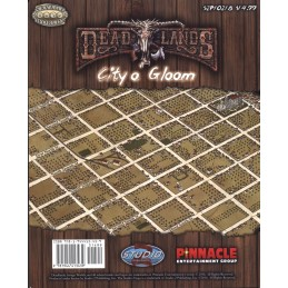 Deadlands Map: City o' Gloom / Skullchucker Arena Map