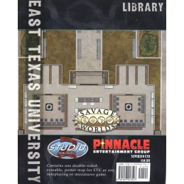 East Texas University Map: Biblioteca / Prefabbricati aziendali