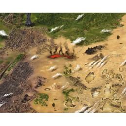 Dragon Kings: Poster Map