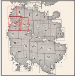 Lupo Solitario: Collezione Mappe di Magnamund - Set 3
