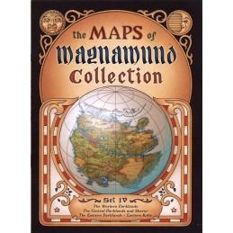 Lupo Solitario: Collezione Mappe di Magnamund - Set 4