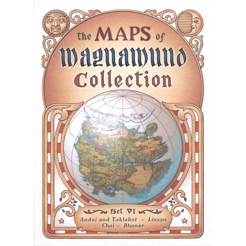 Lupo Solitario: Collezione Mappe di Magnamund - Set 6