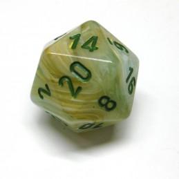 Marmorei - Set di dadi (Verde / Verde scuro)