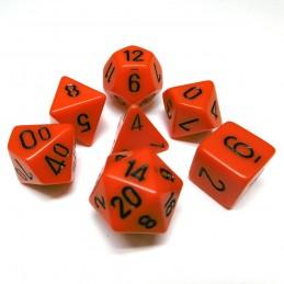 Opachi - Set di dadi (Arancione / Nero)