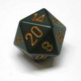 Opachi - Set di dadi (Verde Sporco / Oro)