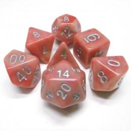 Impressive - Set di dadi (Rosso Passione / Giallo)
