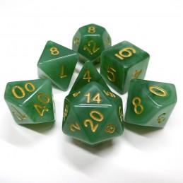 Giada - Set di dadi (Verde)