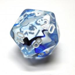 Nebulosa - Set di dadi (Nero / Bianco)
