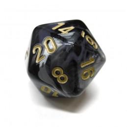 Pregiato - Set di dadi (Nero / Oro)
