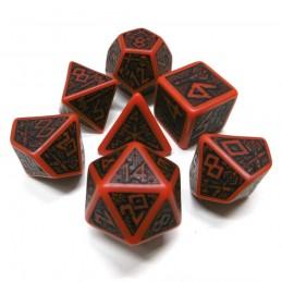 Nanici - Set di dadi (Rosso / Nero)