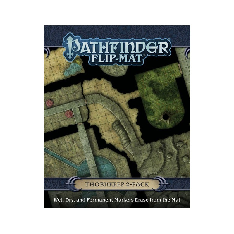 Pathfinder Flip-Mat: Thornkeep (2 Map pack)