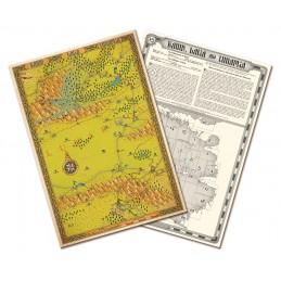 Lupo Solitario: Collezione Mappe di Magnamund - Set 9