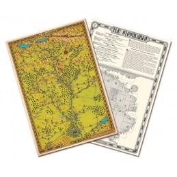 Lupo Solitario: Collezione Mappe di Magnamund - Set 2
