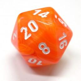 Vortex - Set di dadi (Arancione Solare / Bianco)