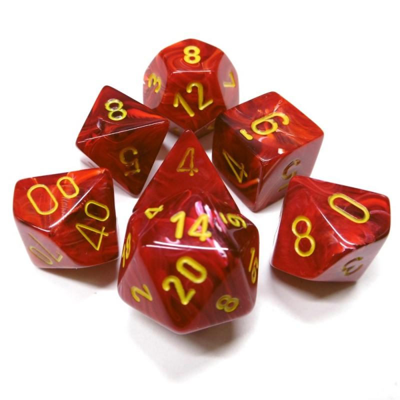Vortex - Set di dadi (Rosso / Giallo)