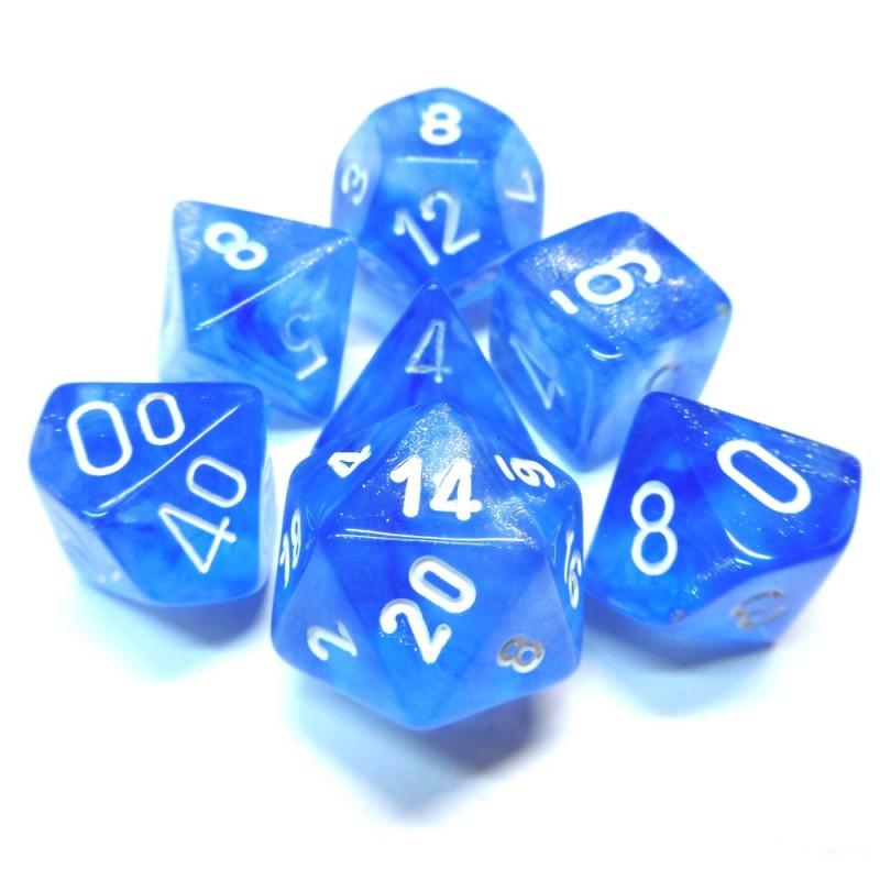 Boreali - Set di dadi (Blu cielo / Bianco)