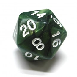 Dragon Shimmer: Set di dadi (Smeraldo)