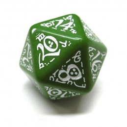 Elfici - Set di dadi (Verde / Bianco)