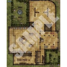 Pathfinder Flip-Mat: Museo