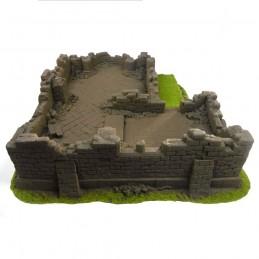 Le rovine del monastero