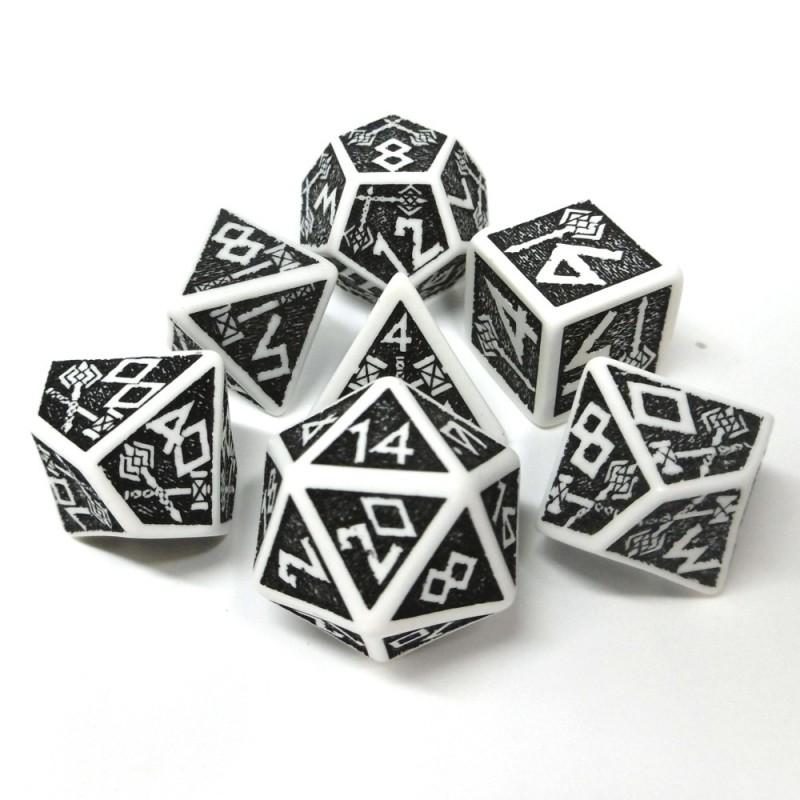 Nanici - Set di dadi (Bianco / Nero)