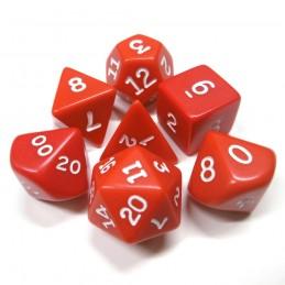 Opachi - Set di dadi (Rosso / Bianco)