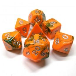 Tossici - Set di dadi (Arancione / Verde)