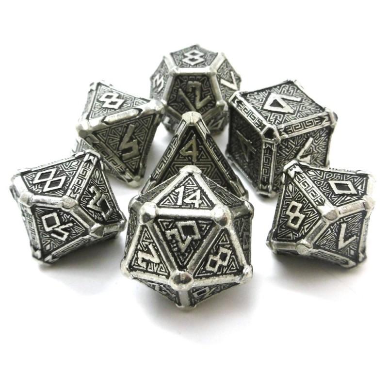 Mythical - Set di dadi in metallo