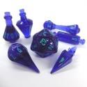 PolyHero - Mago: Set di dadi Tempesta Violetta e Fulmini