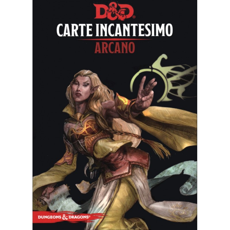 Dungeons & Dragons: Carte Incantesimo - Arcano (PREORDER)