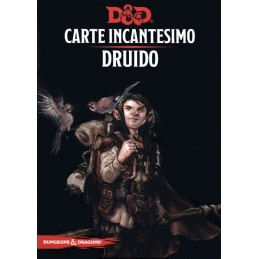 Dungeons & Dragons: Carte Incantesimo - Druido (PREORDER)