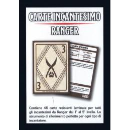 Dungeons & Dragons: Carte Incantesimo - Ranger (PREORDER)