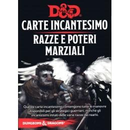 Dungeons & Dragons: Carte Incantesimo - Razze e Poteri Marziali (PREORDER)
