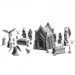 HQ Resin: Diorama - La necropoli dimenticata