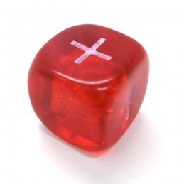 Fate: Set di dadi trasparenti (Rosso)