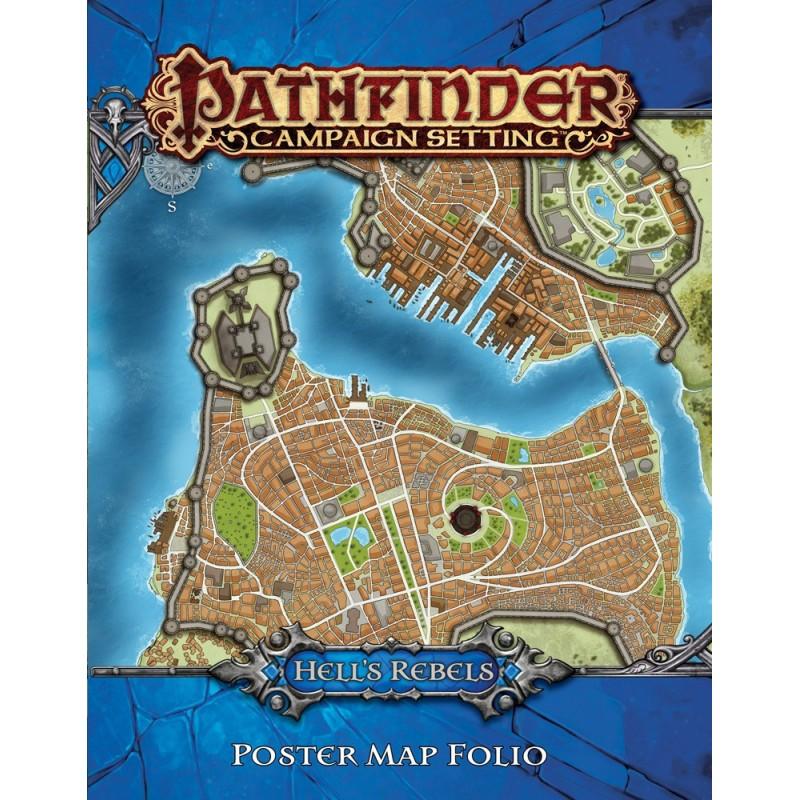 Pathfinder: Poster Map Folio - Ribelli dell'Inferno