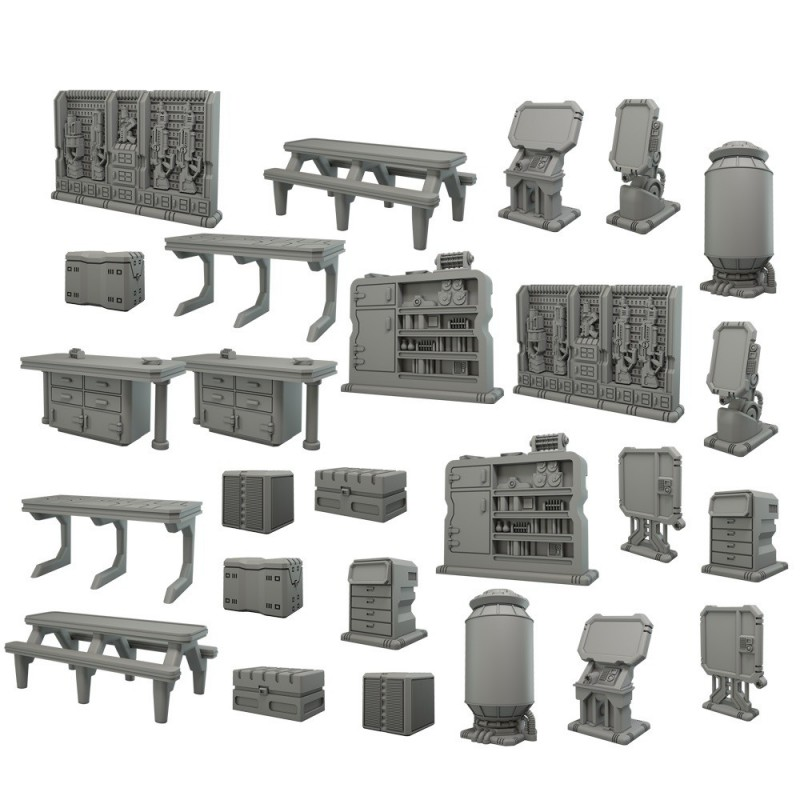 Terrain Crate: Scenario Nave spaziale