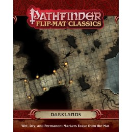 Pathfinder Flip-Mat Classics: Le terre oscure