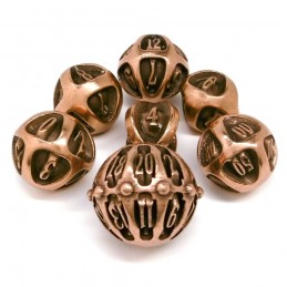 Carv - Set di dadi Old Copper (Rame Antico)