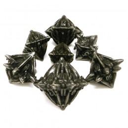 Terralith - Set di dadi Dark Iron (Ferro Nero)
