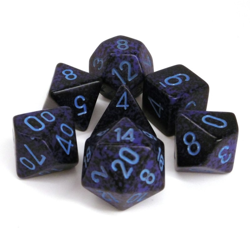 Speckled - Set di dadi (Cobalto)
