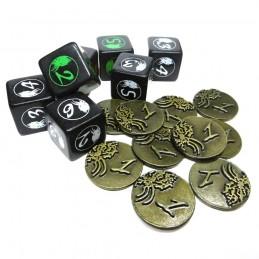 Set di dadi e monete: Cthulhu