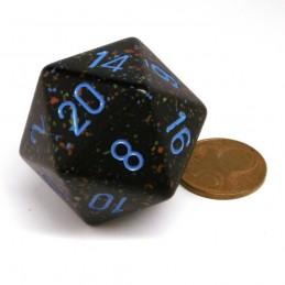 Maculati - Dado a 20 facce da 34 mm (Stelle Blu)