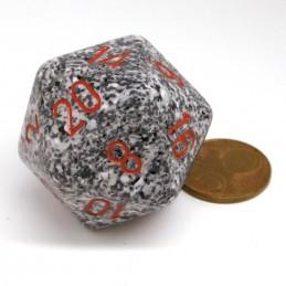 Maculati - Dado a 20 facce da 34 mm (Granito)