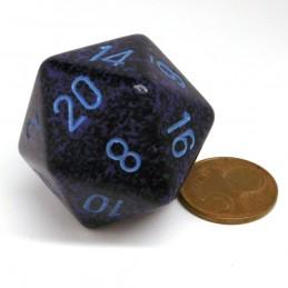 Maculati - Dado a 20 facce da 34 mm (Cobalto)