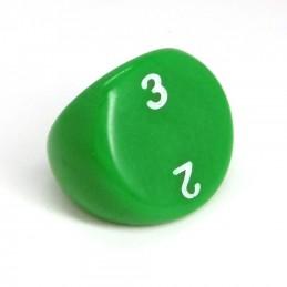 Opaco - Dado singolo d3 (Verde)