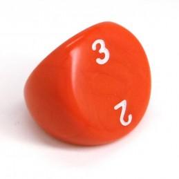 Opaco - Dado singolo d3 (Rosso)