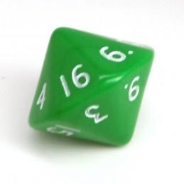 Opaco - Dado singolo d16 (Verde)