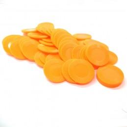 Dischetti: Set di 50 color Arancione