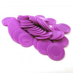Dischetti: Set di 50 color Viola